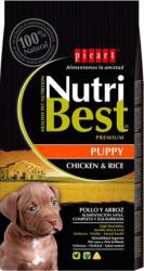 Hrana uscata pentru caini cu pui si orez Puppy Nutribest 3 kg Hrana animale