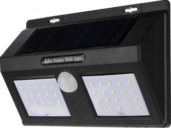 Lampa cu LED Dubla solara si senzor de miscare 40 x LED Corpuri de iluminat