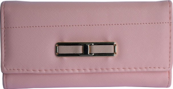 Portofel elegant de dama - roz Accesorii Dama
