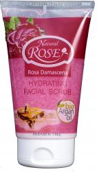 Crema exfolianta hidratanta cu ulei de argan si trandafiri 150 ml Masti, exfoliant, tonice
