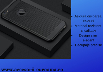 Husa Apple iPhone 5 5S Perforata PC Hollow Mesh Policarbonat Huse Telefoane