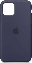 Husa iPhone 11 Pro 2019 5.8 Bleumarin Carcasa Silicon Premium Slim Logo Huse Telefoane