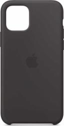 Husa iPhone 11 Pro 2019 5.8 Negru Carcasa Silicon Premium Slim Logo Huse Telefoane