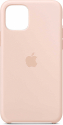 Husa iPhone 11 Pro 2019 5.8 Roz Carcasa Silicon Premium Slim Logo Huse Telefoane