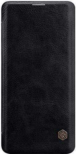 Husa iPhone 11 Pro Max 2019 Negru Toc Flip Nillkin Qin Piele Eco Premium Tip Carte Portofel Huse Telefoane