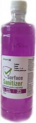 Igienizant pentru suprafete alcool 70 500 ml aroma lavanda mov Gel antibacterian