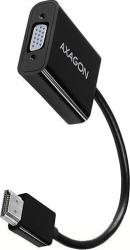 Adaptor HDMI la VGA AXAGON RVD-VGAN Rezolutie maxima 1920 x 1200 Full HD/1080p