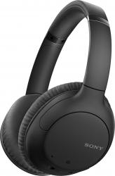 Casti audio Sony WH-CH710NB Noise Canceling Google Assistant Wireless Bluetooth NFC Autonomie de 35 ore  Negru Casti