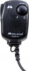 Microfon cu difuzor Midland MA26-XL cu reglaj volum cu 2 pini tip Midland C515.05 Alarme auto si Senzori de parcare