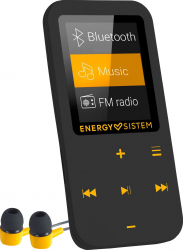 Player Mp4 Energy Sistem S447220 Bluetooth 16 GB FM Touch Amber