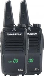Statie radio PMR 446 portabila PNI DYNASCAN LB23 set cu 2 buc Alarme auto si Senzori de parcare