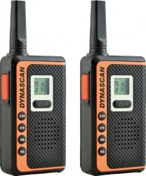 Statie radio PMR Dynascan SF22 set 2 bucati 16 canale Alarme auto si Senzori de parcare