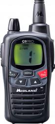 Statie radio PMR portabila Midland G9 PRO Cod C1385 Alarme auto si Senzori de parcare