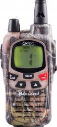 Statie radio PMR portabila Midland G9 PRO mimetic Dualband 8 canale IPX4 VOX 5W single pack Alarme auto si Senzori de parcare