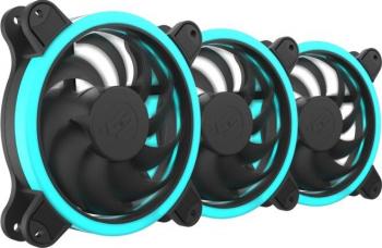 Ventilator SilentiumPC Corona HP RGB 140mm 3 pack