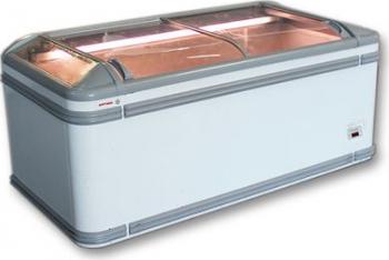 Lada frigorifica AHT Paris 185 LED-HI AD 185x85x83 cm culoare alb 571 L Lazi si congelatoare