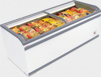 Lada frigorifica AHT Paris 250 U LED R404a 250x85x83 cm culoare alb 812 L