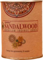 Set 24 Conuri parfumate pentru Cascada Fum Backflow aromaterapie - Sandalwood Odorizante