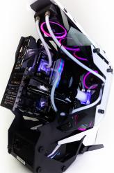 Sistem Powerup TORQUE Custom Watercooling RGB AMD Ryzen 9 3900X 12Core 3.8-4.6Ghz 64 GB DDR4 3000Mhz SSD 2TB M.2 NVidia RTX 2080TI 11GB