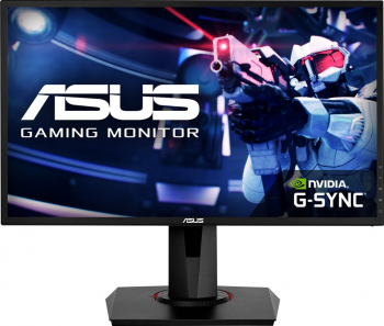 Monitor Gaming ASUS G248QG 24inch FHD 165Hz 0.5ms G-Sync Compatible Monitoare LCD LED