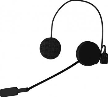 Casti moto cu microfon Bluetooth MH01