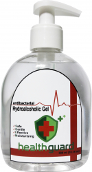 Gel hidroalcoolic igienizant antibacterian Health Guard 300 ml Gel antibacterian