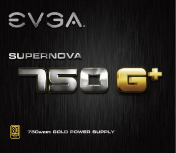 EVGA 120-GP-0750-X2 PSU EVGA SuperNOVA 750 G+ 750W 80 PLUS Gold Full modular 135mm Surse