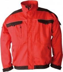 Jacheta salopeta Cool Trend rosu-negru marimea 60