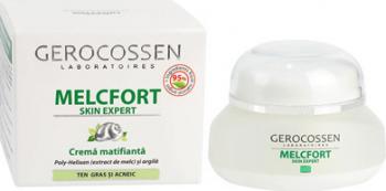 Melcfort crema matifianta pentru ten gras si acneic 35 ml Gerocossen