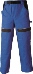 Pantaloni salopeta Cool Trend albastru-negru marimea 48