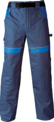 Pantaloni salopeta Cool Trend bleumarin-albastru marimea 58