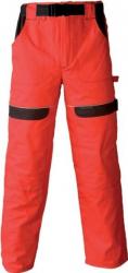 Pantaloni salopeta Cool Trend rosu-negru marimea 62