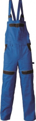 Pantaloni salopeta cu pieptar Cool Trend albastru-negru marimea 46