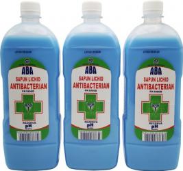ABA sapun lichid antibacterian Articole curatenie si igiena