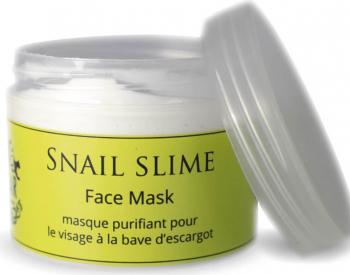Masca de fata anti acnee Cougar cu extract de melc 100 ml Masti, exfoliant, tonice