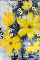 Tablou modern decorativ pictat manual de Corina Tamas dimensiuni 35 x 50 cm Tablouri