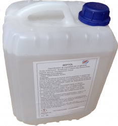 Dezinfectant de suprafete 20 litri TP2 biocid profesional cu aviz MS SEPTOL