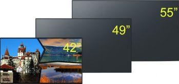 Display IPS LED Panasonic TH-49LF80W Monitoare LCD LED