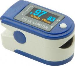 Puls-oximetru CONTEC CMS-50D cu pletismograma ecran LED puls 30-255 SpO2 0-99 Pulsoximetre