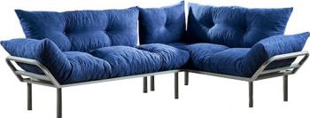 Canapea Dolce Albastru 220 cm x 170 cm Canapele