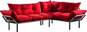 Canapea Dolce Rosu 220 cm x 170 cm Canapele