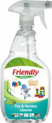Detergent spray jucarii si suprafete Friendly Organic 650 ml Detergent ecologic
