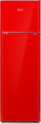 Frigider cu doua usi LDK LF 260 R Clasa A+ Capacitate 276 L H 159 cm 5 ani garantie Rosu Frigidere Combine Frigorifice