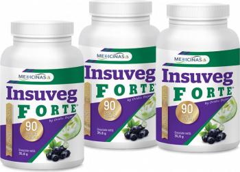 Insuveg Forte - insulina vegetala pachet 3 luni