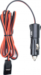 Cablu alimentare cu mufa de bricheta President CA-3T cu 3 pini statie radio Alarme auto si Senzori de parcare