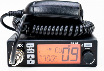 Statie radio CB JOPIX GS60 40 CH AM/FM 12-24V ASQ Alarme auto si Senzori de parcare