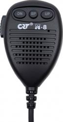 Microfon CRT M-8 cu 6 pini pentru statie radio CRT S 8040 Alarme auto si Senzori de parcare