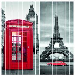 Jaluzele imprimate model Londra 200X240 cm