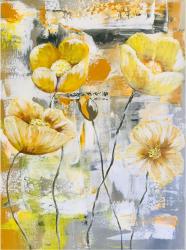 Maci Galbeni tablou pictat manual Corina Tamas dimensiune 30 x 40 cm Tablouri