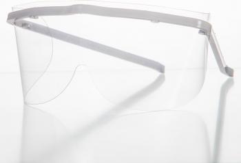 Pachet 10+1 Gratis - Ochelari de protectie cu vizor detasabil si inlocuibil COVID-19 Face Shield Articole protectia muncii